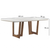Conjunto Sala de Jantar Talia 6 Cadeiras