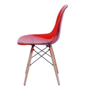 Cadeira DKR 1101B PC Base Madeira