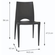 Cadeira Zoe 1139 Tratamento UV Área Externa