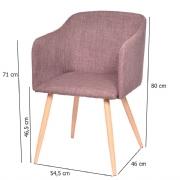 Cadeira Charla 1126 Com Braço